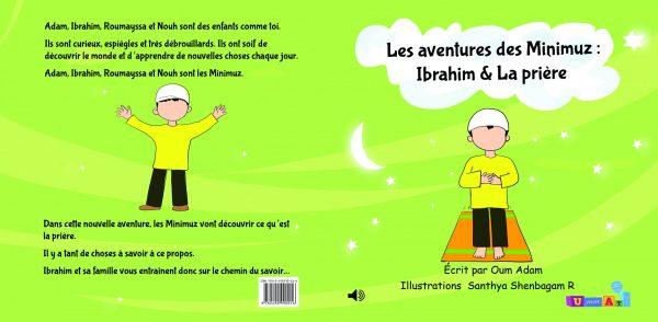 """Le livre """"Ibrahim & La Prière"""" est plus qu'un livre ; C'est unlivre audio connecté.Scannez le QR code que vous trouverez à l'intérieur et laissez vous emporter..."""