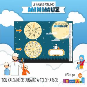 Ton calendrier de Minimuz gratuit