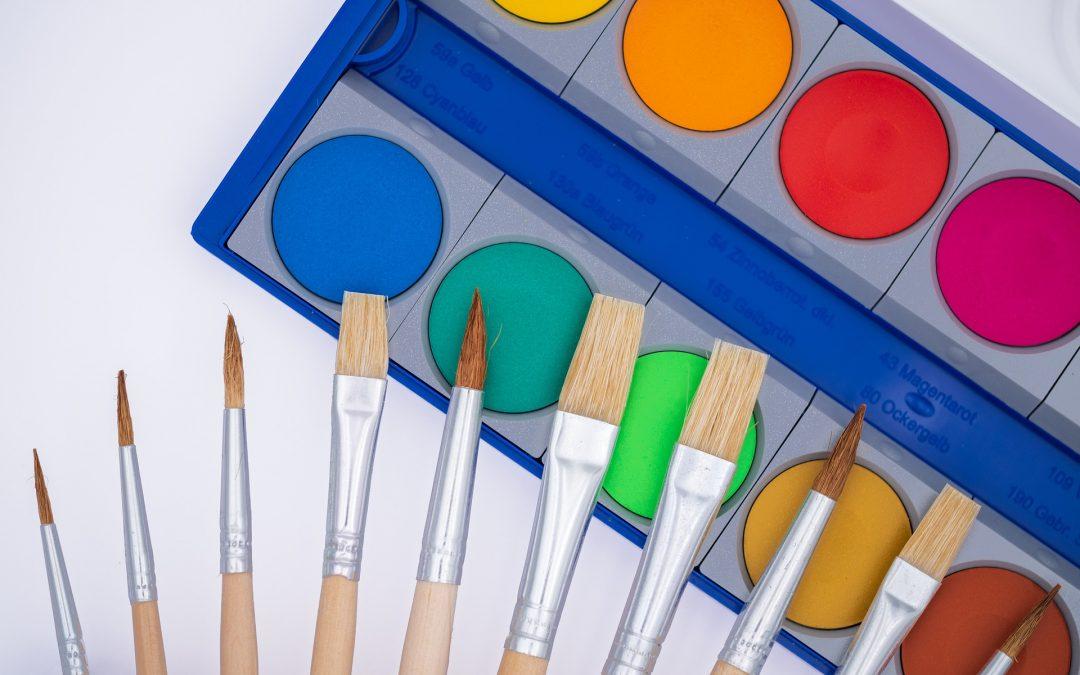 Affichage gratuit pour la classe : Les couleurs